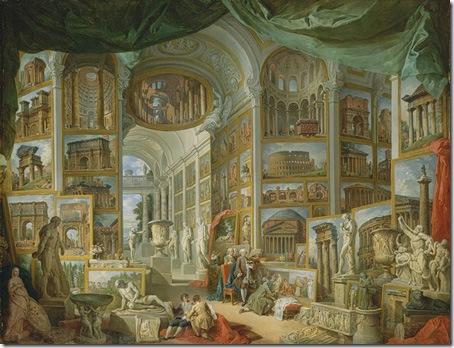 Ancient Rome, 1757, Giovanni Paolo Panini