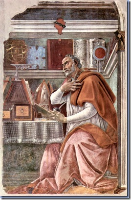 St. Augustine, 1480, Sandro Botticelli