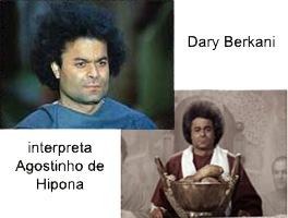 Dary Berkani interpreta Agostinho de Hipona