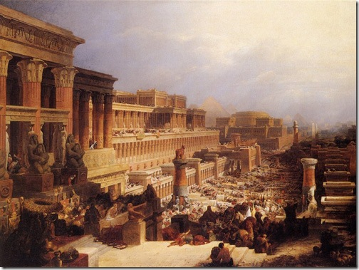 The Israelites Leaving Egypt, c. 1828-1830, David Roberts