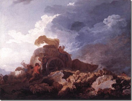 The Storm, c. 1759, Jean-Honoré Fragonard