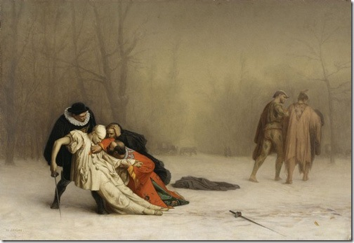 The Duel After the Masquerade, 1857-1859, Jean-Léon Gérôme