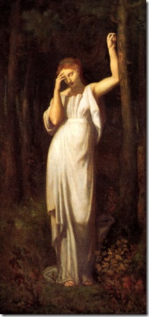 The Meditation, 1867, Pierre Puvis de Chavannes