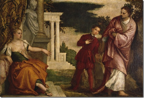 Youth between Virtue and Vice, 1580-1582, Paolo Veronese