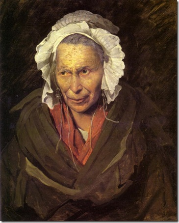 Portrait of a Woman Suffering from Obsessive Envy, 1822,  Théodore Géricault