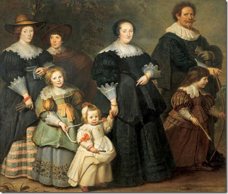 Cornelis de Vos Self-portrait with his Wife, Susanna Cock, and Children, 1634, Cornelis de Vos