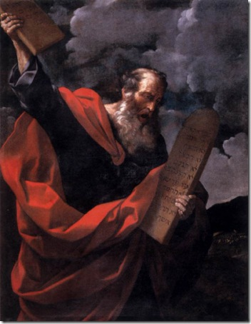 Moses with the Tablets of the Law, c. 1624, Guido Reni