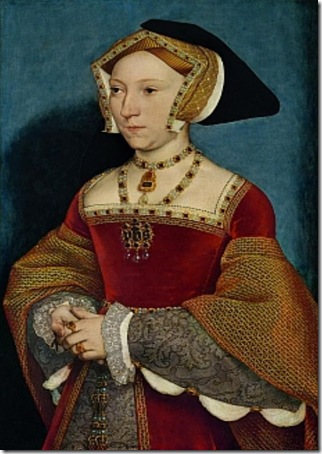 Portrait of Jane Seymour, 1537, Hans Holbein the Younger