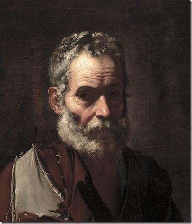 An Old Man, c. 1635, Jusepe de Ribera