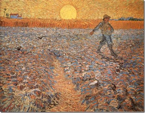 The Sower, 1888, Vincent van Gogh