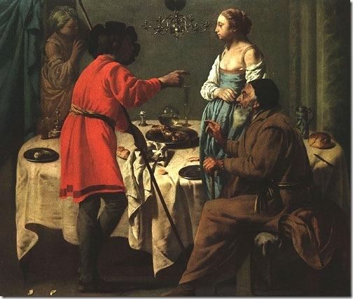Jacob Reproaching Laban, 1627, Hendrick Jansz ter Brugghen