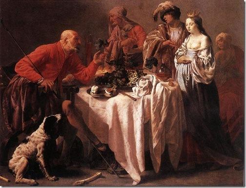 Jacob Reproaching Laban, 1628, Hendrick Jansz ter Brugghen