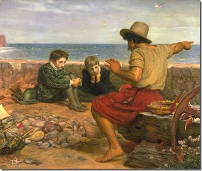 The Boyhood of Raleigh, 1869-70, Sir John Everett Millais