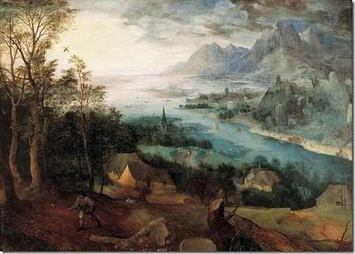 Landscape with the Parable of the Sower, 1557, Pieter Bruegel the Elder