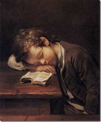 Le petit paresseux, 1755, Jean-Baptiste Greuze