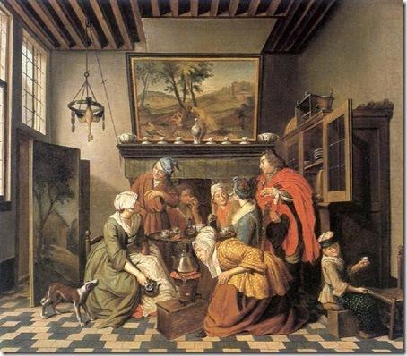 Tea Time, Jan Josef Horemans the Elder