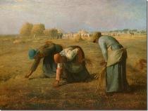 """""""As Respigadoras"""" – Jean-François Millet"""