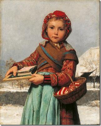 Albert Anker school painting