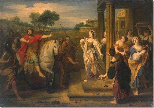 Jephtha's Daughter (or Return of Jephthae) , Bon de Boullogne