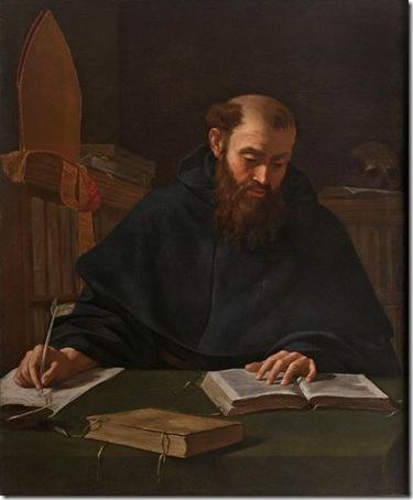 St. Augustine, c. 1600, Caravaggio