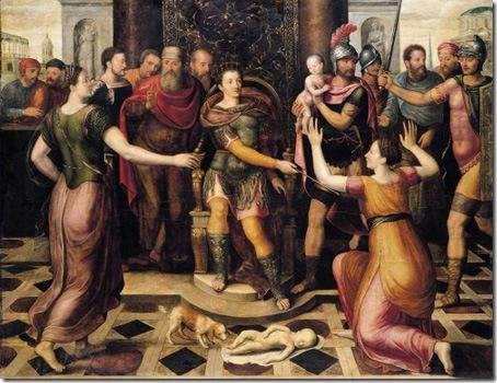 The Judgement of Solomon, Antoon Claeissens