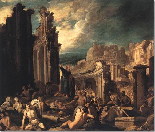 The Vision of Ezekiel, 1630, Francisco Collantes