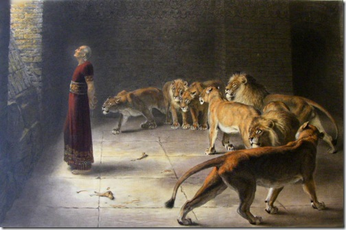 Daniel's Answer to the King, 1890, Briton Rivière