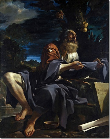 Elijah fed by Ravens, 1620, Il Guercino