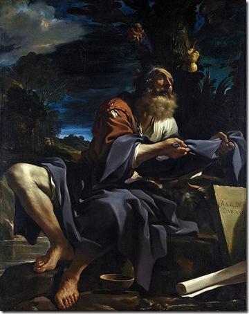 Elijah fed by Ravens, 1620, Il Guercino