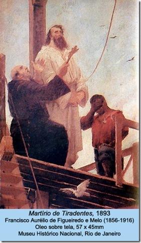 Martírio de Tiradentes, 1893, Francisco Aurélio de Figueiredo e Melo