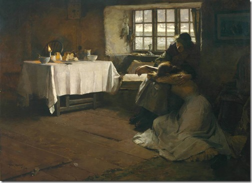 A Hopeless Dawn, 1888, Frank Bramley
