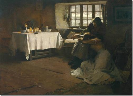 A Hopeless Dawn, 1888, Frank Bramley