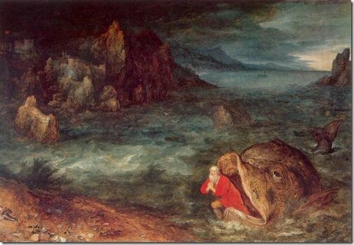 Jonah Leaving the Whale, ca. 1600, Jan Brueghel the Elder