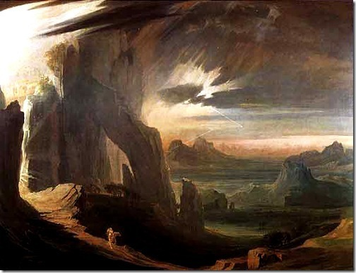 The Expulsion of Adam and Eve from Paradise, 1823-27, John Martin