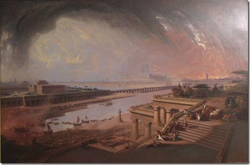 The Fall of Babylon, 1819, John Martin