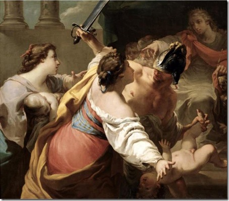 The judgement of Solomon, Gaetano Gandolfi