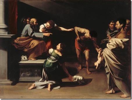 The Judgement of Solomon, 1609-10, Jusepe de Ribera