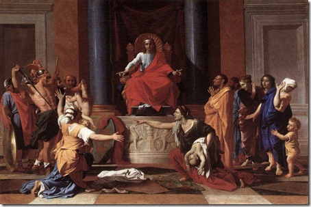 The Judgment of Solomon, Nicolas Poussin