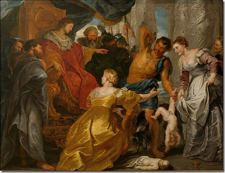 The Judgment of Solomon, Peter Paul Rubens