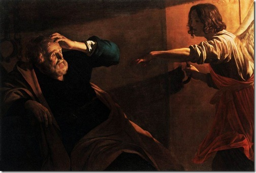 Liberation of St. Peter, 1616-1618, Gerrit Van Honthorst