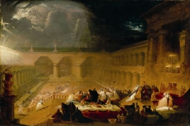 Belshazzar's Feast, 1820, John Martin