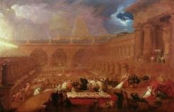 O Banquete de Belsazar – John Martin