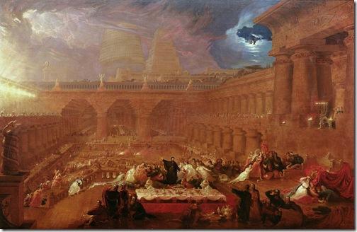 Belshazzar's Feast, 1821, John Martin
