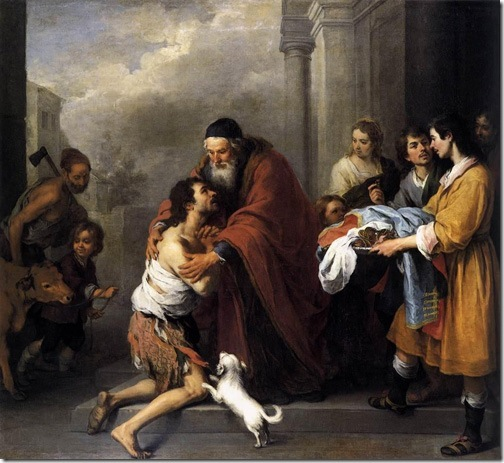 Return of the Prodigal Son, 1667-70, Bartolomé Esteban Murillo