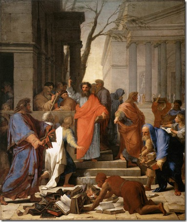The Preaching of St. Paul at Ephesus, 1649, Eustache Le Sueur