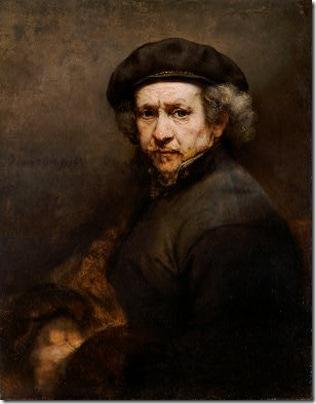 Self-Portrait, 1659, Rembrandt van Rijn