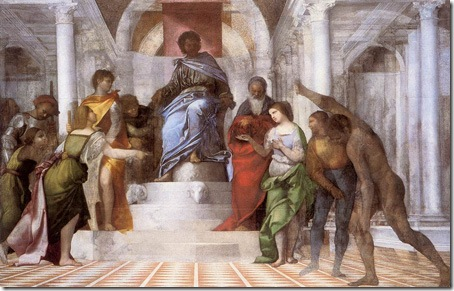 The Judgement of Solomon, Sebastiano del Piombo