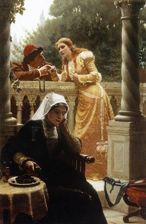 Stolen Interview, Edmund Blair Leighton
