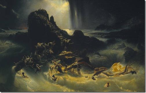 The Deluge, c. 1840, Francis Danby