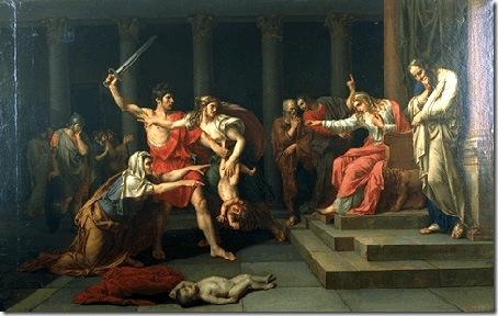 The Judgement of Solomon, Jean-Baptiste Joseph Wicar